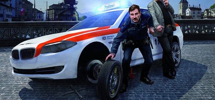 Visual Mundart-Komödie Polizeinotruf 117